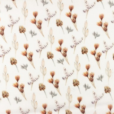 Organic Hydrophilic Cotton winter flower